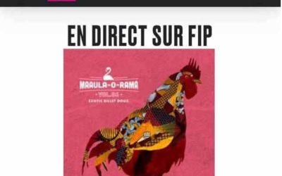 Le single «Sur mon dos» feat. Isla sur FIP Radio!!