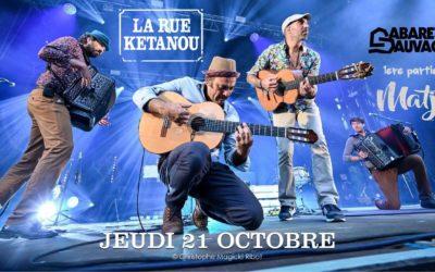 Matjé en 1ere partie de La Rue Kétanou                              au Cabaret Sauvage (Paris 19eme) le 21 oct 2021